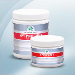 Нутри Клинз - питательная ферментная очистка кишечника с хлореллой
